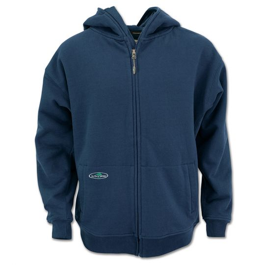 Single Thick Full Zip Sweatshirt