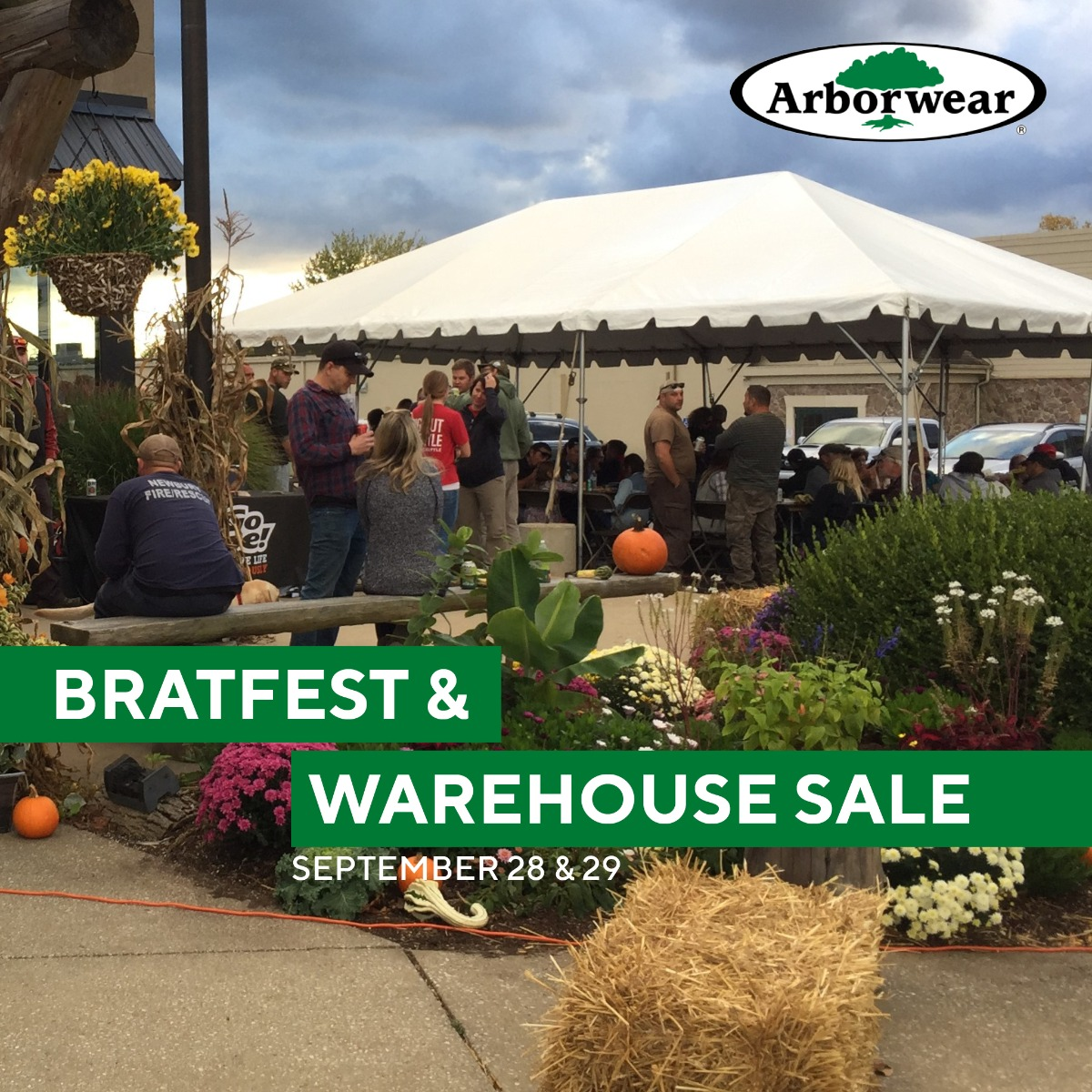 Bratfest and Warehouse Sale